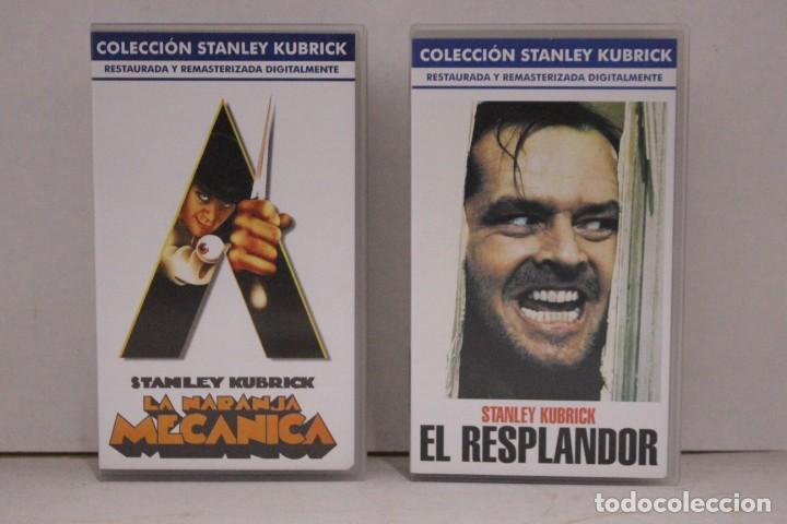 2 VHS COLECCIÓN STANLEY KUBRICK (Cine - Películas - VHS)