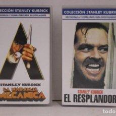 Cine: 2 VHS COLECCIÓN STANLEY KUBRICK. Lote 171348663