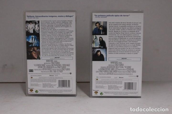 Cine: 2 vhs colección Stanley Kubrick - Foto 2 - 171348663