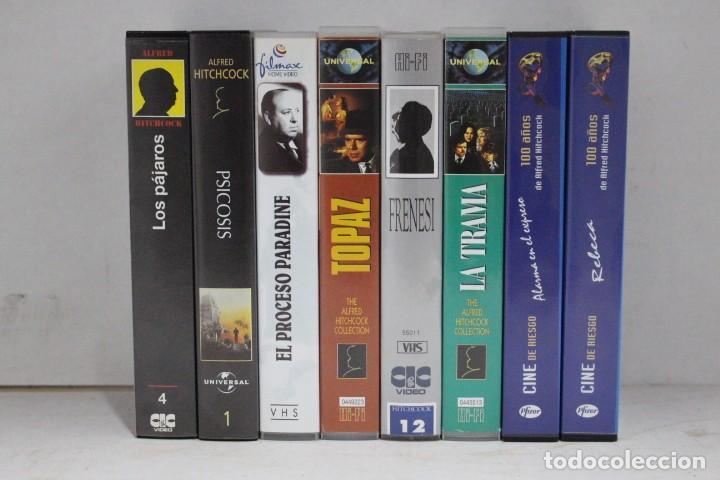 LOTE 8 VHS, ALFRED HITCHCOCK (Cine - Películas - VHS)