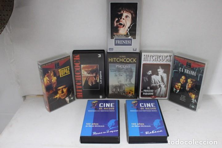 Cine: lote 8 vhs, Alfred Hitchcock - Foto 2 - 171349007