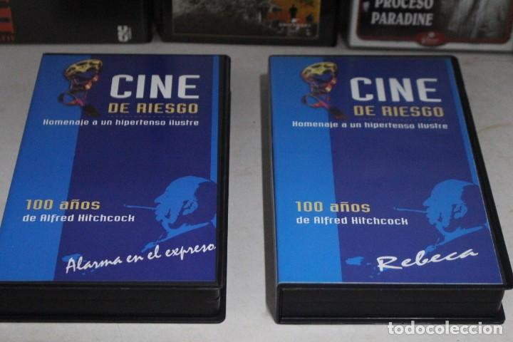 Cine: lote 8 vhs, Alfred Hitchcock - Foto 3 - 171349007