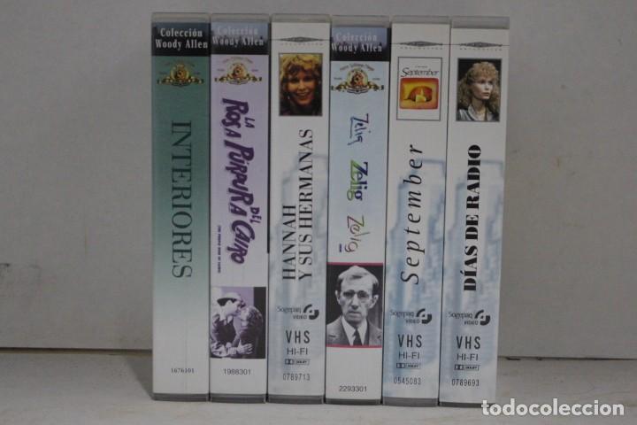 LOTE 6 VHS, WOODY ALLEN (Cine - Películas - VHS)