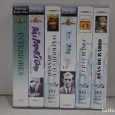 Cine: LOTE 6 VHS, WOODY ALLEN. Lote 171349272