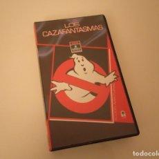 Cine: CAZAFANTASMAS VHS BILL MURRAY, SIGOURNEY WEAVER, DAN AYKROYD, HAROLD RAMIS, RICK MORANIS. Lote 169467064