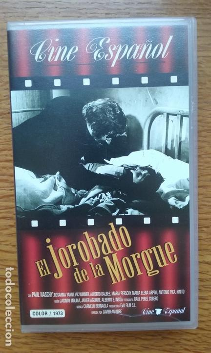 El jorobado de la Morgue - VHS Manga Video - Paul Naschy