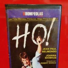 Cine: HO ! - JEAN PAUL BELMONDO - FRANCÉS POLICIACA - DESCATALOGADO. Lote 171839338