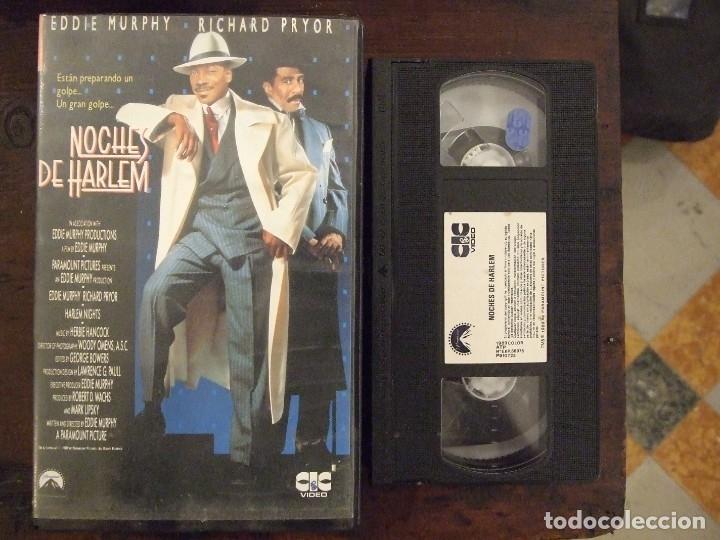 NOCHES DE HARLEM - EDDIE MURPHY - RICHARD PRYOR - CIC 1990 (Cine - Películas - VHS)