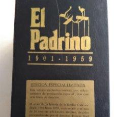 Cine: VHS EL PADRINO TRILOGÍA. Lote 172374559
