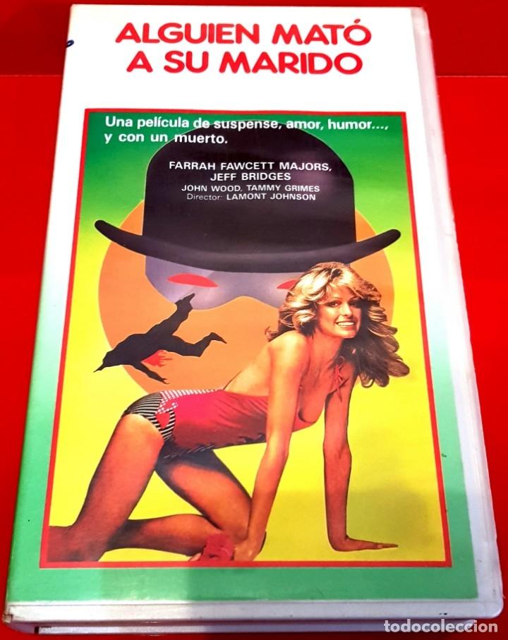 ALGUIEN MATÓ A SU MARIDO (1978) - LAMONT JOHNSON, FARRAH FAWCETT - DESCATALOGADA (Cine - Películas - VHS)