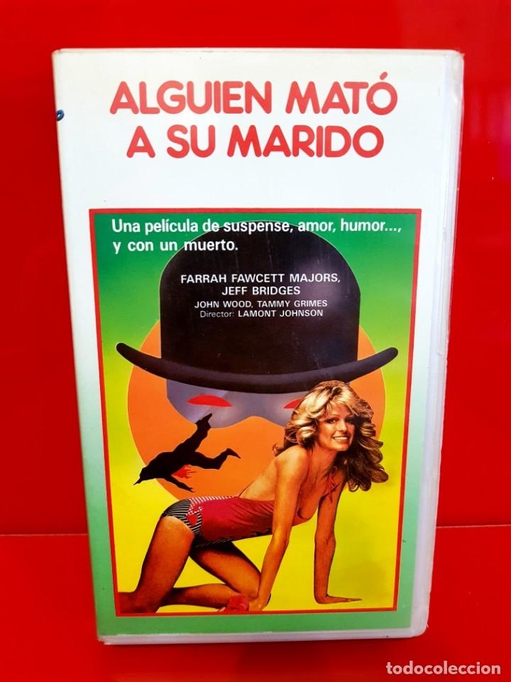 Cine: ALGUIEN MATÓ A SU MARIDO (1978) - Lamont Johnson, Farrah Fawcett - DESCATALOGADA - Foto 2 - 172388739