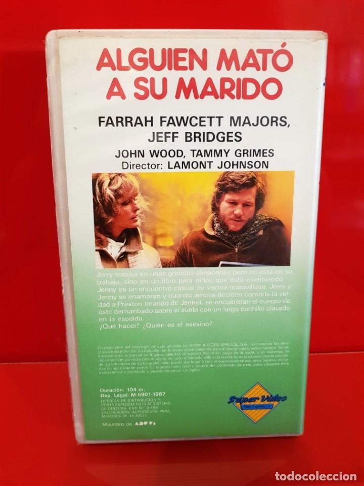 Cine: ALGUIEN MATÓ A SU MARIDO (1978) - Lamont Johnson, Farrah Fawcett - DESCATALOGADA - Foto 3 - 172388739