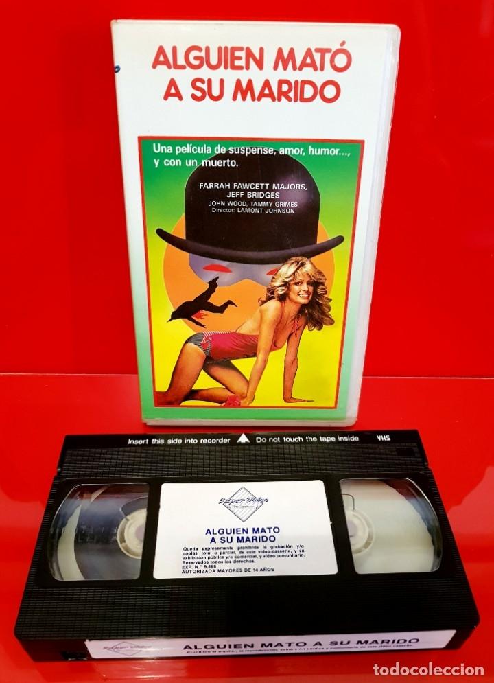 Cine: ALGUIEN MATÓ A SU MARIDO (1978) - Lamont Johnson, Farrah Fawcett - DESCATALOGADA - Foto 4 - 172388739