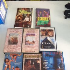 Cine: PELÍCULAS VÍDEO VHS 8 PELÍCULAS. Lote 172469469
