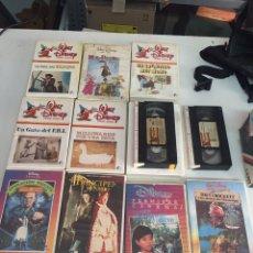 Cine: VHS PELÍCULAS WALT DISNEY ORIGINALES. Lote 172473297