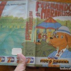 Cinema: FERNANDO EL MARAVILLOSO-VHS. Lote 172624155