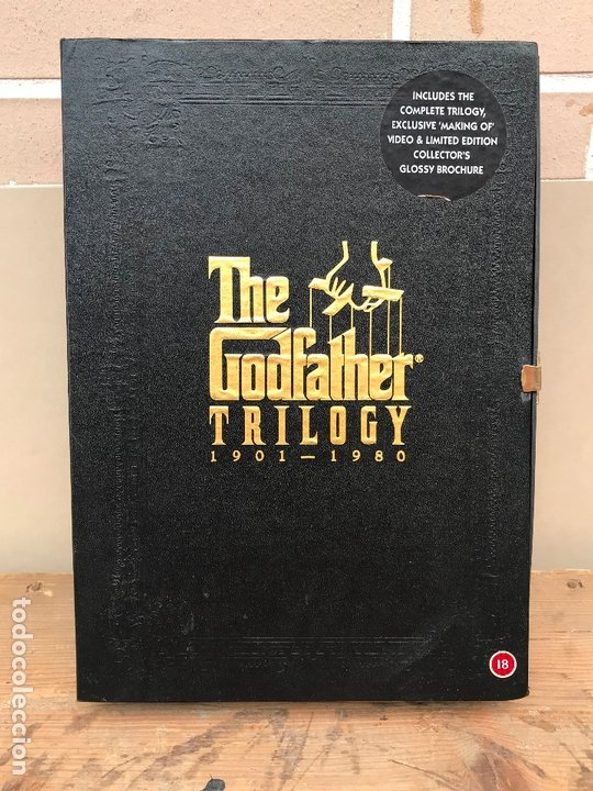 THE GODFATHER TRILOGY VHS LIBRETOS Y MAKING OFF (Cine - Películas - VHS)