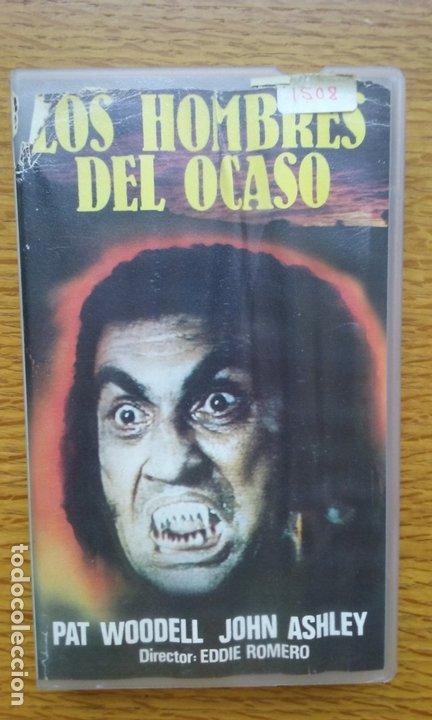 LOS HOMBRES DEL OCASO - TERROR ÚNICA EN TC RAREZA (Cine - Películas - VHS)