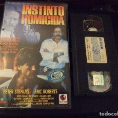 Cine: INSTINTO HOMICIDA - MICHAEL TOSHIYUKI - PETER STRAUSS , ERIC ROBERTS - RECORD 1992. Lote 172784934