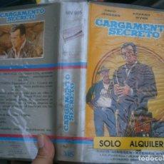 Cine: CARGAMENTO,SECRETO'1 EDICCION¡VHS. Lote 172843383