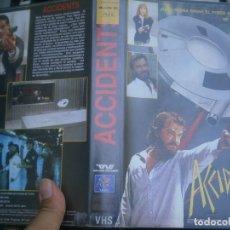 Cine: ACCIDENTS¡¡CAJA GRANDE'''VHS. Lote 172844342