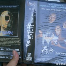 Cine: THE STUFF¡¡VHS¡¡CAJA GRANDE¡¡. Lote 172844720