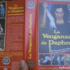 Cine: LA VENGANZA DE DAPHNE¡¡VHS¡. Lote 172846365