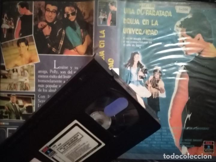 UNA DISPARATADA BRUJA EN LA UNIVERSIDAD. VHS. IMPOSIBLE DE ENCONTRAR. (Cine - Películas - VHS)