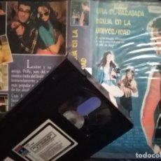 Cine: UNA DISPARATADA BRUJA EN LA UNIVERSIDAD. VHS. IMPOSIBLE DE ENCONTRAR. ENVÍO GRATIS. Lote 172860158