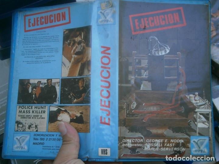 EJECUCION¡¡1 EDICCION¡¡VHS'' (Cine - Películas - VHS)
