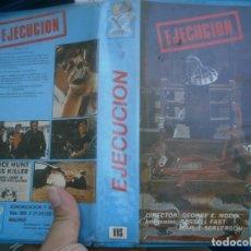 Cine: EJECUCION¡¡1 EDICCION¡¡VHS''. Lote 172869267