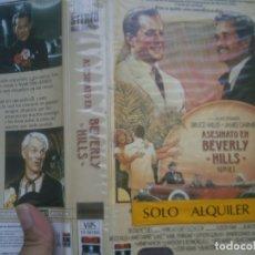 Cine: ASESINATO EN BEVERLY HILLS,,VHS. Lote 172870083