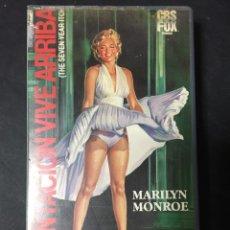 Cine: VHS VIDEO LA TENTACION VIVE ARRIBA BILLY WILDER MARILYN MONROE PRIMERA EDICION CBS FOX UNICA EN TC!!. Lote 172876394