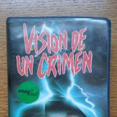Cine: VISIÓN DE UN CRIMEN - RAREZA TERROR SOLO DOS EN TC. Lote 172905934