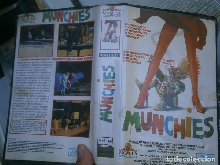 MUNCHIES¡¡1 EDICCION,, VHS (Cine - Películas - VHS)