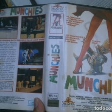 Cine: MUNCHIES¡¡1 EDICCION,, VHS. Lote 172966933