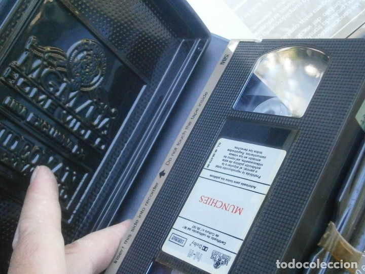 Cine: MUNCHIES¡¡1 EDICCION,, VHS - Foto 2 - 172966933
