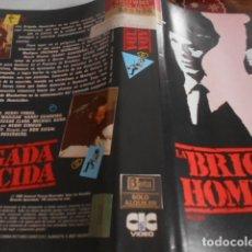 Cine: SOLO CARATULA SIN CINTA - BRIGADA HOMICIDA - 73. Lote 172996065