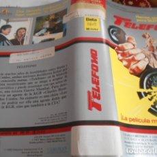 Cine: SOLO CARATULA SIN CINTA - TELEFONO -92. Lote 172996650
