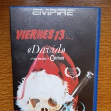 Cine: VIERNES 13 - DAVID THE ORPHAN - TERROR - SLASHER - EMPIRE ÚNICA EN TC. Lote 173053390