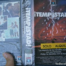 Cine: TEMPESTAD VHS CAJA GRANDE¡¡. Lote 173081257
