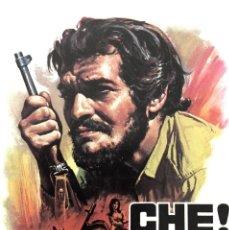 Cine: VHS VIDEO CHE! RICHARD FLEISCHER OMAR SHARIF JACK PALANCE CHE GUEVARA. Lote 173091297
