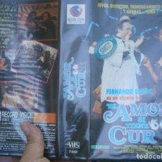 Cine: EL AMOR SI TIENE CURA''CAJA GRANDE VHS¡¡. Lote 173098548