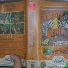 Cine: ¡¡MUERTE SUBITA ,VHS PRIMERA EDICCION¡¡. Lote 173098804