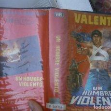 Cine: UN HOMBRE VIOLENTO ,,VHS CAJA GRANDE¡¡VALENTIN'''. Lote 173098834