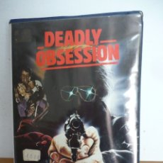 Cine: DEADLY OBSESSION. Lote 173445464