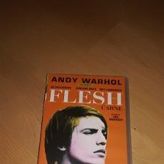Cine: FLESH / CARNE DE PAUL MORRISSY Y ANDY WARHOL VHS. Lote 173514898