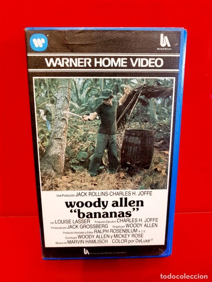 BANANAS (1971) - WOODY ALLEN - WARNER 1ª EDICIÓN (Cine - Películas - VHS)