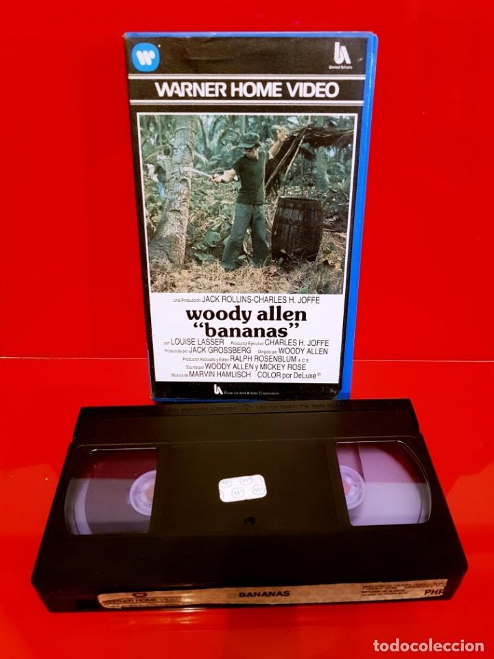 Cine: BANANAS (1971) - WOODY ALLEN - WARNER 1ª EDICIÓN - Foto 3 - 173515258