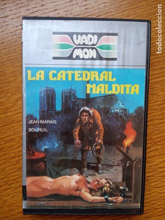 LA CATEDRAL MALDITA TERROR ÚNICA EN TC (Cine - Películas - VHS)
